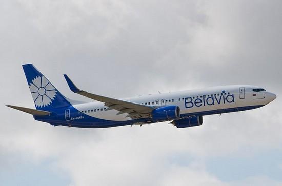 самолет Belavia Airlines